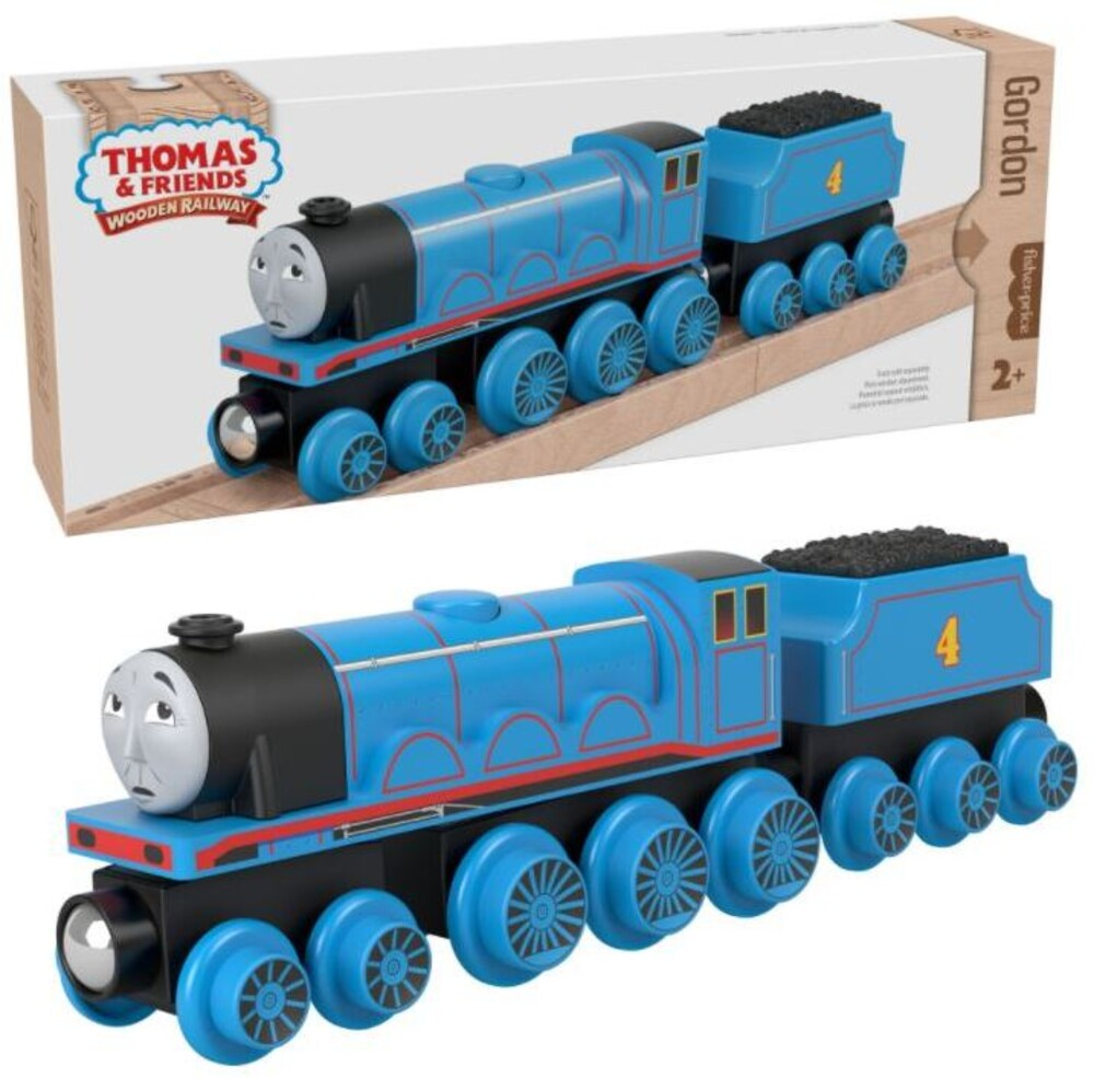 Thomas and Friends Wooden Railway - Thomas And Friends Wood Gordon Engine & Car (Wood)