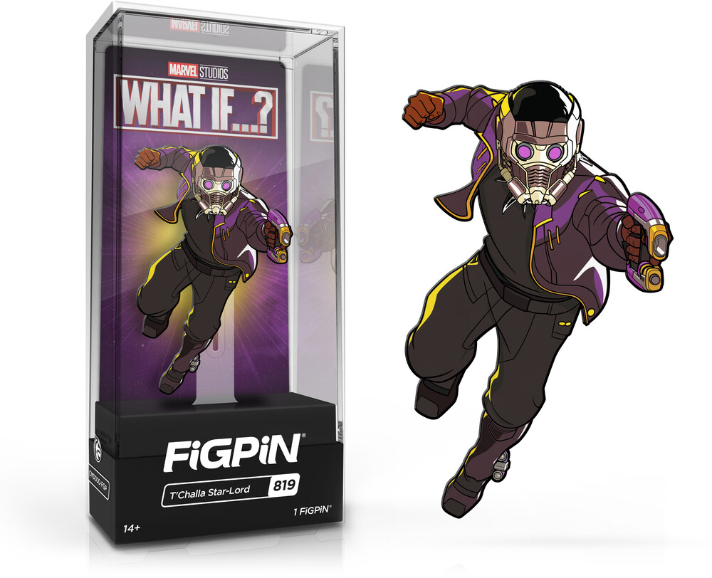 Figpin Marvel What If? T'Challa Star-Lord #819 - Figpin Marvel What If? T'challa Star-Lord #819