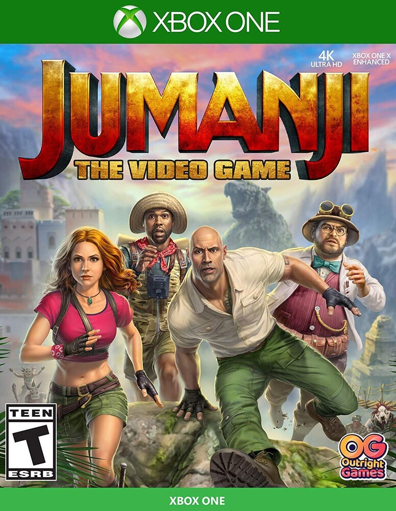 Xb1 Jumanji the Video Game - Jumanji: The Video Game for Xbox One