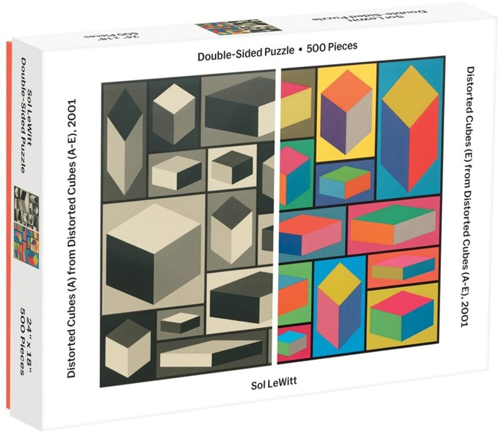 - MoMA Sol Lewitt 500 Piece 2-Sided Puzzle