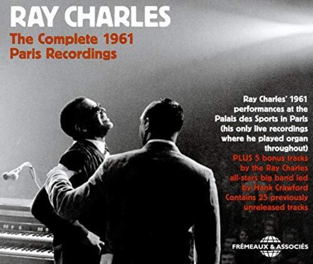 Ray Charles - Complete 1961 Paris Recordings (3pk)