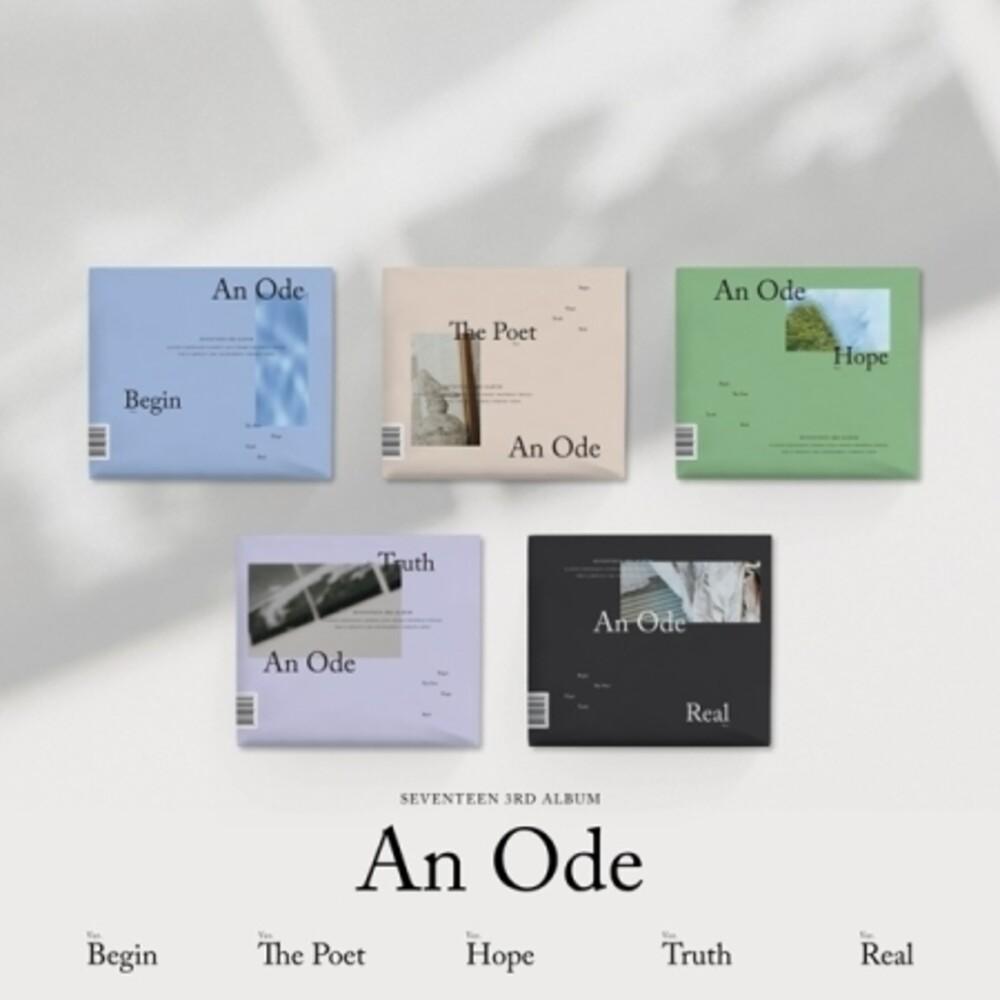 Seventeen - An Ode (Vol. 3) (incl. 104pg Photobook, 8pg Photobook + 4 Postcards)