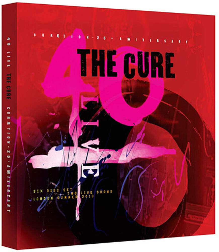The Cure - 40 Live Curaetion 25 + Anniversary [Deluxe 4CD/2DVD]