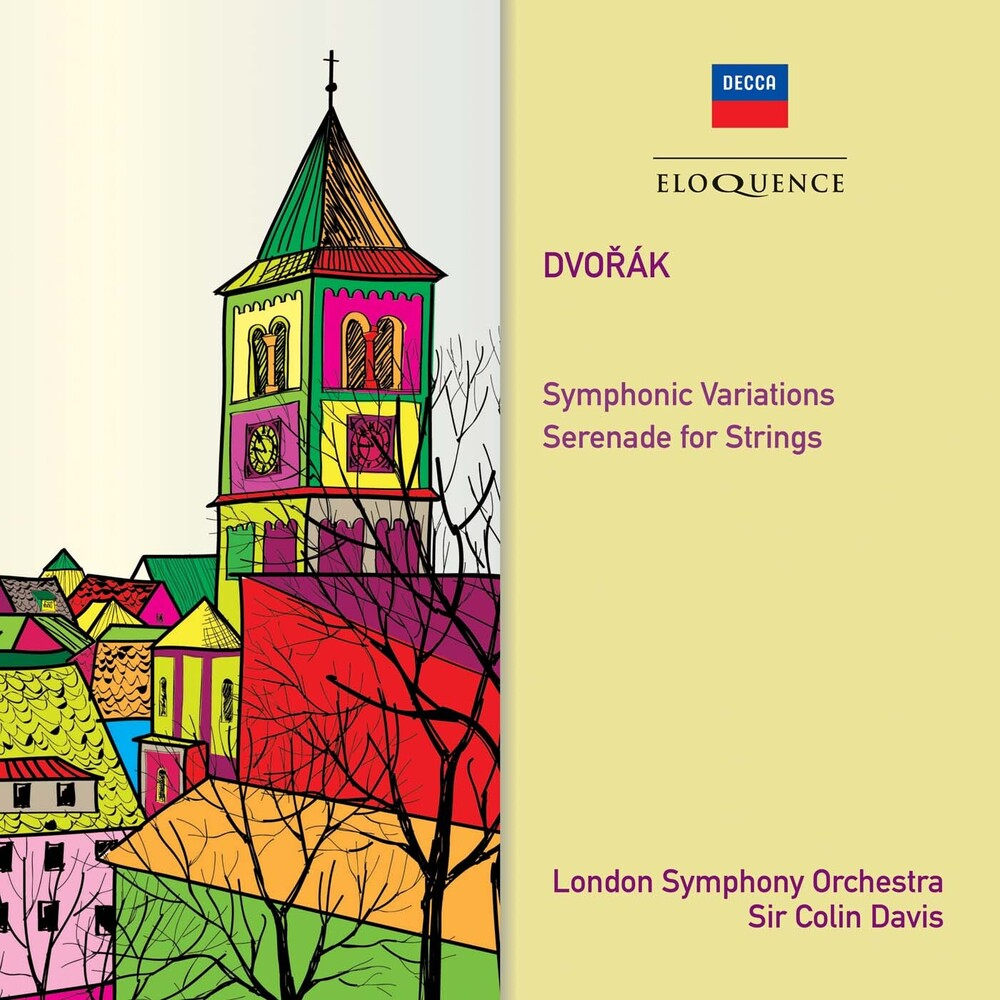 Dvorak / Colin Davis - Dvorak: Symphonic Variations / Serenade For String