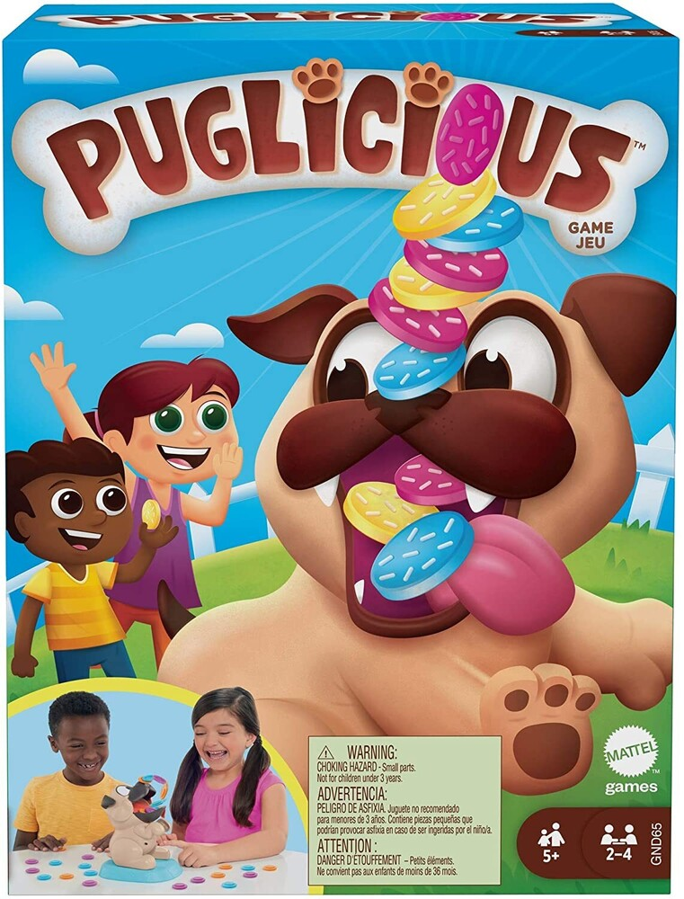 Puglicious - Mattel Games - Puglicious