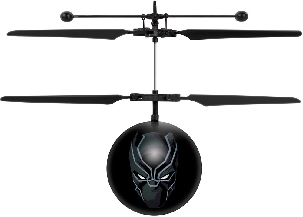 Ufo Flying Ball - Marvel Avengers Black Panther IR UFO Ball Helicopter (Marvel, Avengers, Black Panther)