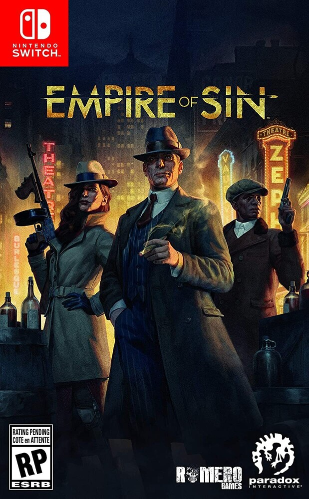 Swi Empire of Sin - Empire of Sin for Nintendo Switch