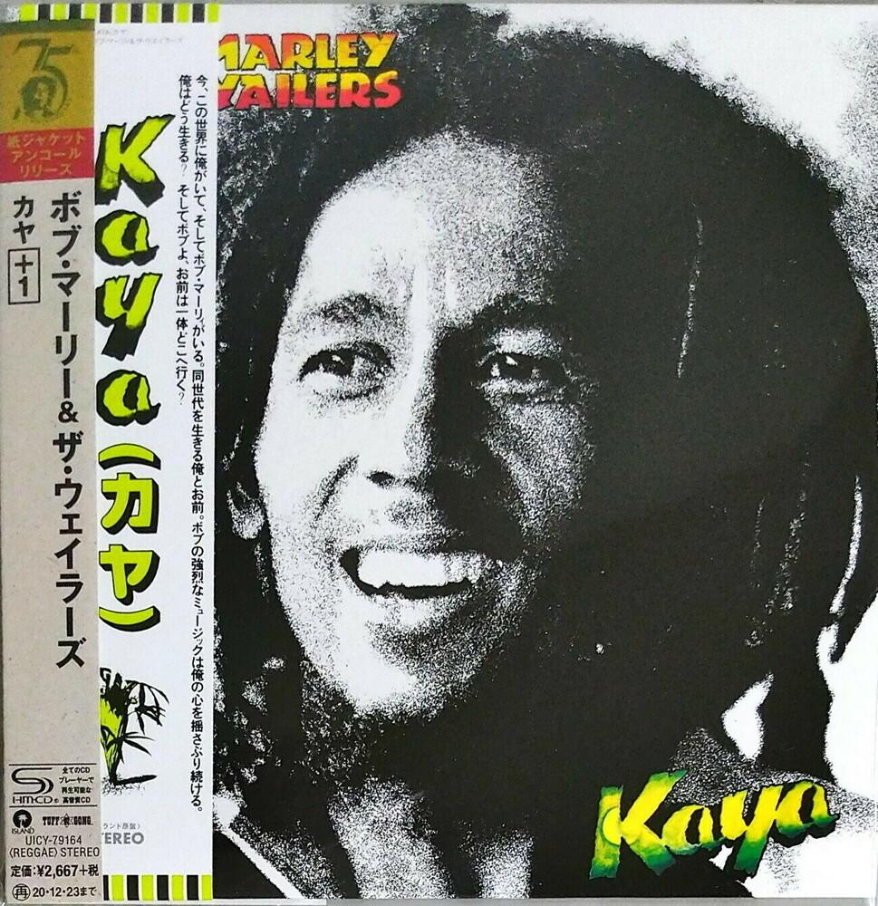 Bob Marley & The Wailers - Kaya (Jmlp) (Ltd) (Wb) (Rmst) (Shm) (Jpn)