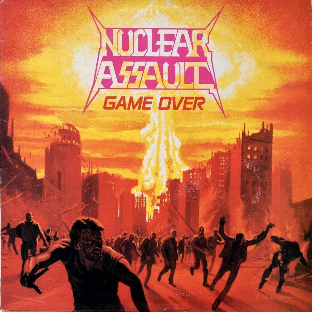 Nuclear Assault - Game Over [Indie Exclusive Limited Edition Ultra Clear w/ Orange Crush Splatter LP]