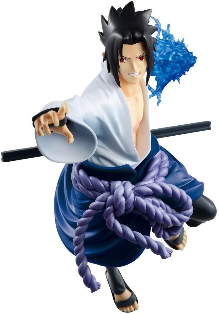 Banpresto - BanPresto - Naruto Shippuden Vibration Stars Uchida Sasuke Figure