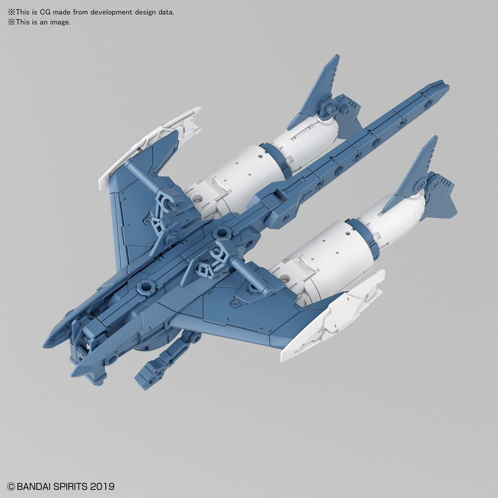 Bandai Hobby - Bandai Hobby - 30 Minute Missions - #06 Attack Submarine (Blue GrayGray), Bandai Spirits Extended Armament Vehicle