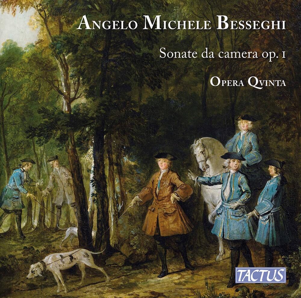 Besseghi / Opera Qvinta - Sonate Da Camera 1 (2pk)