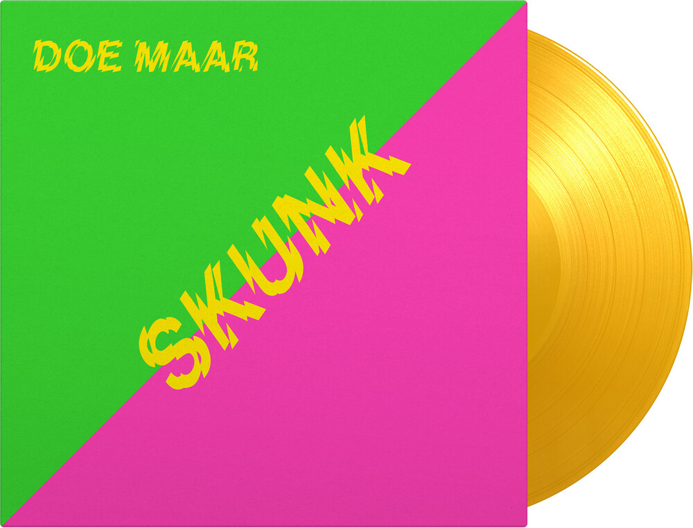 Doe Maar - Skunk (Bonus Cd) [Colored Vinyl] [Limited Edition] [180 Gram] (Ylw) (Hol)