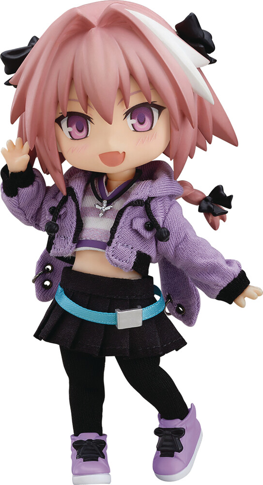 Good Smile Company - Good Smile Company - Fate Apocrypha Rider Of Black Nendoroid DollAction Figure Casual Version