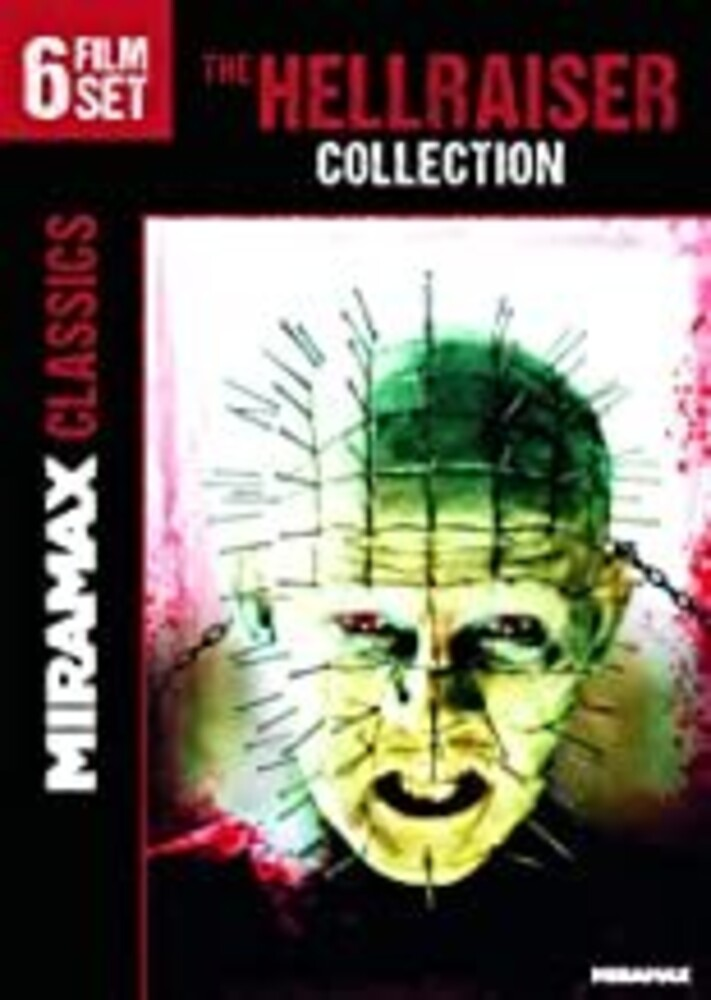 Hellraiser 6-Movie Collection - Hellraiser 6-Movie Collection (3pc) / (3pk Amar)