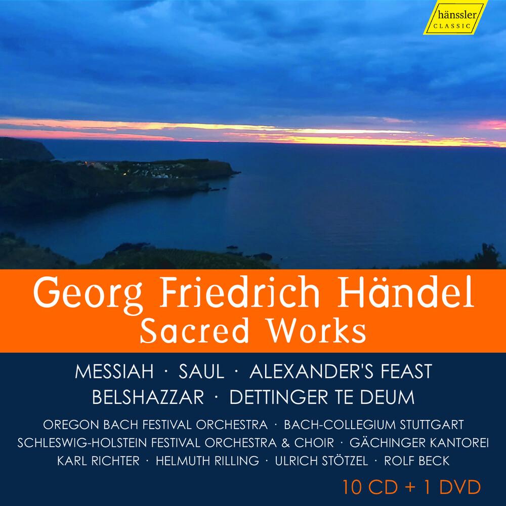 Handel - Sacred Works (W/Dvd) (2pk)