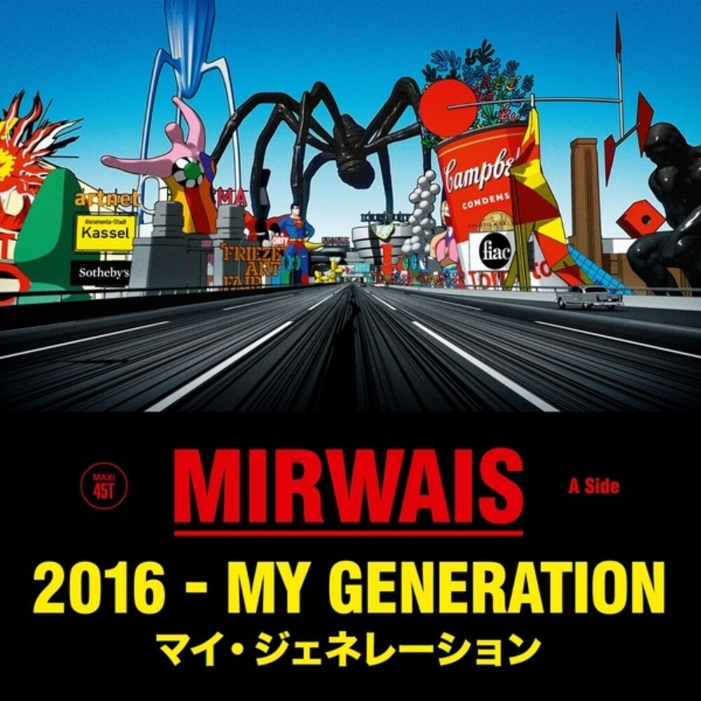 Mirwais - 2016 - My Generation (Single)