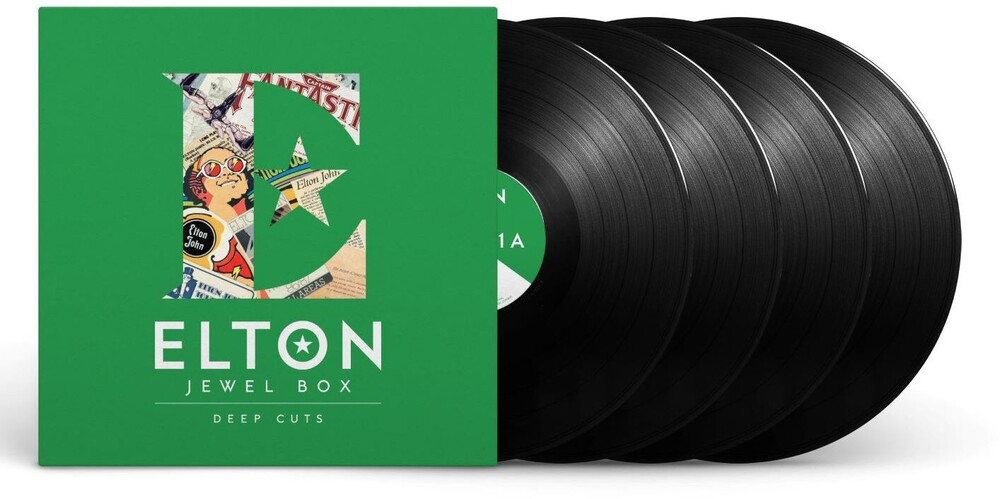 Elton John - Jewel Box [4LP - Deep Cuts]