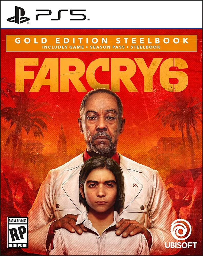 Ps5 Far Cry 6 Steelbook Gold Ed - Ps5 Far Cry 6 Steelbook Gold Ed