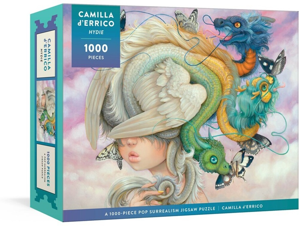 D'Errico, Camilla - Hydie: A 1,000-Piece Pop Surrealism Jigsaw Puzzle: Jigsaw Puzzles forAdults, Jigsaw Puzzles for Kids