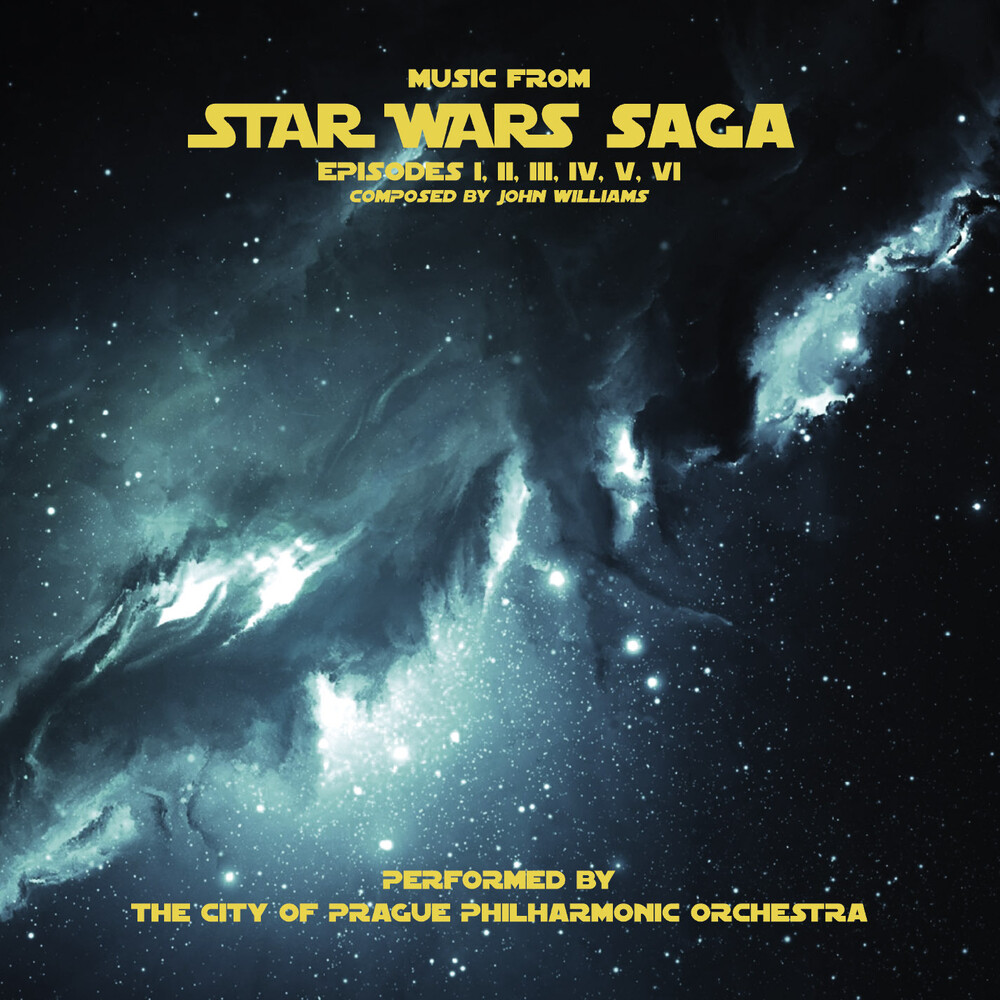 City Of Prague Philharmonic Orchestra Gry Ltd - Music From Star Wars Saga (Grey Vinyl) (Gry) (Ltd)