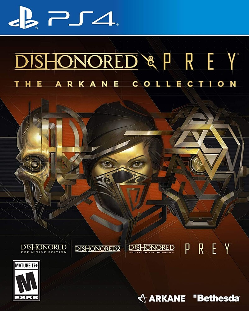 Ps4 Dishonored & Prey - Arkane Collection - Dishonored and Prey: The Arkane Collection for PlayStation 4