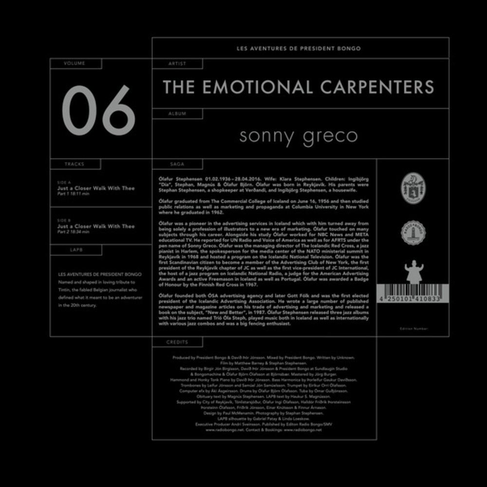 Emotional Carpenters - Just a Closer Walk with Thee
