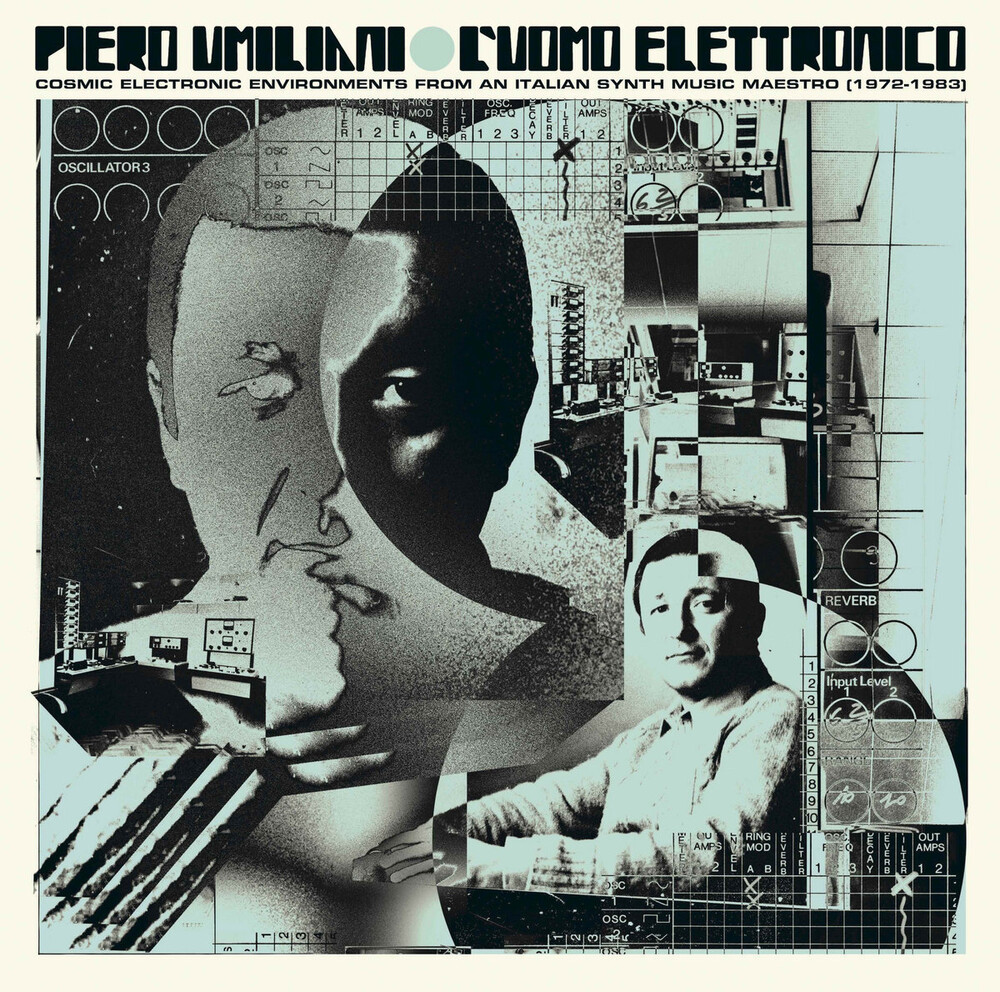 Piero Umiliani - L'uomo Elettronico: Cosmic Electronic Environments from an Italian Synth Music Maestro (1972-1983)