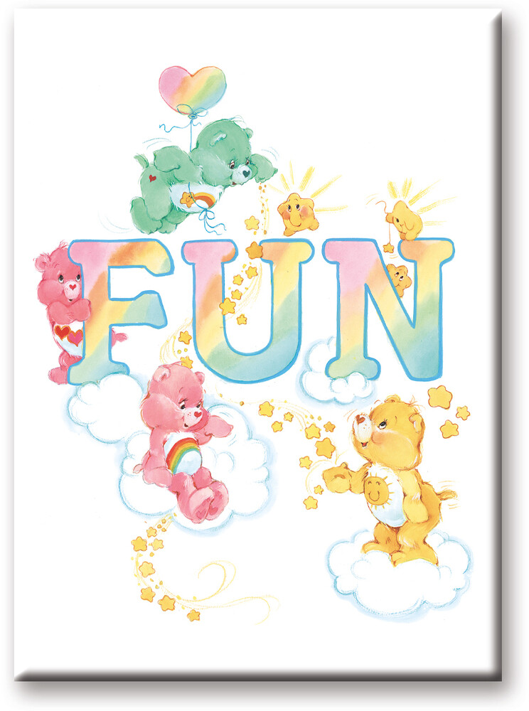 Care Bears Fun 2.5 X 3.5 Flat Magnet - Care Bears Fun 2.5 X 3.5 Flat Magnet