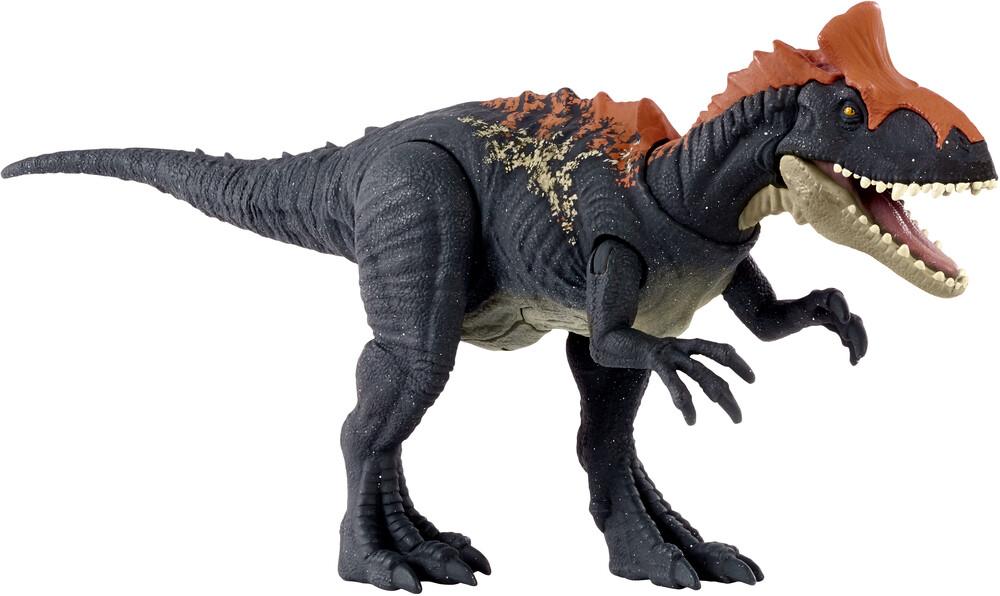 - Mattel - Jurassic World Sound Strike Cryolophosaurus