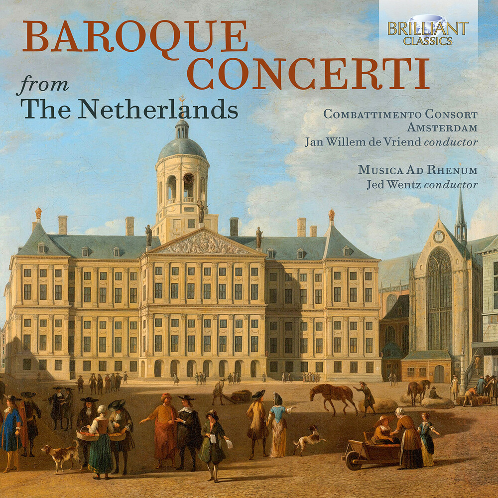 Musica Ad Rhenum - Baroque Concerti / Various (4pk)