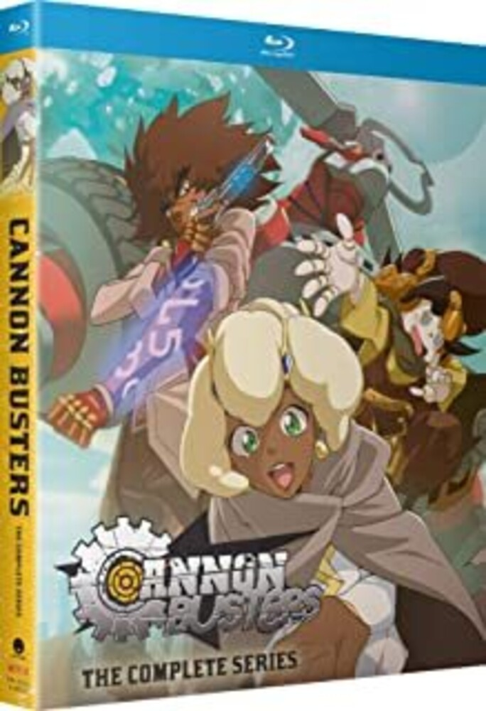 - Cannon Busters: Complete Season (2pc) / (2pk Sub)
