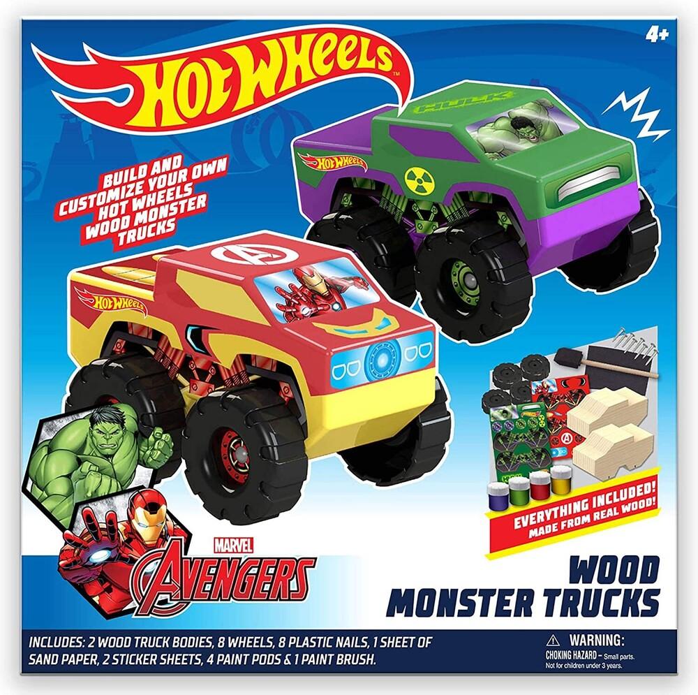 - Tara Toys - Hot Wheels 2-Pack Wood Monster Trucks
