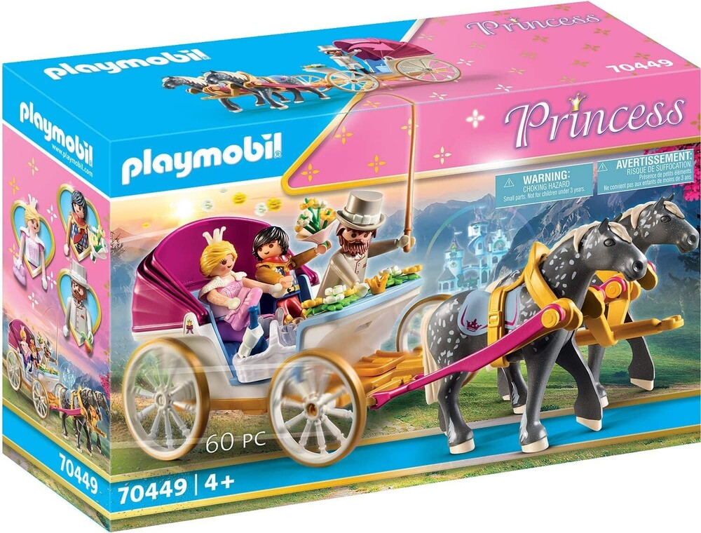 - Princess Horse Drawn Carriage (Fig)