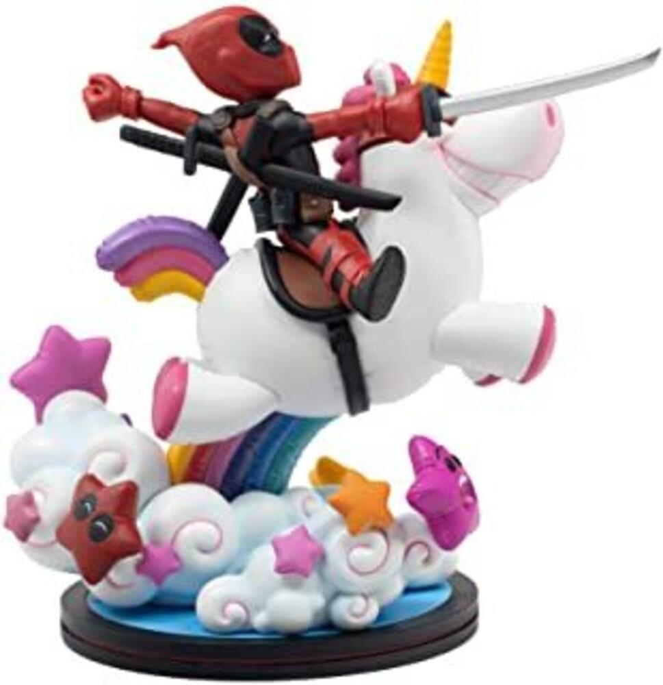 - Deadpool X Unicorn Q-Fig Max Elite (Clcb) (Vfig)