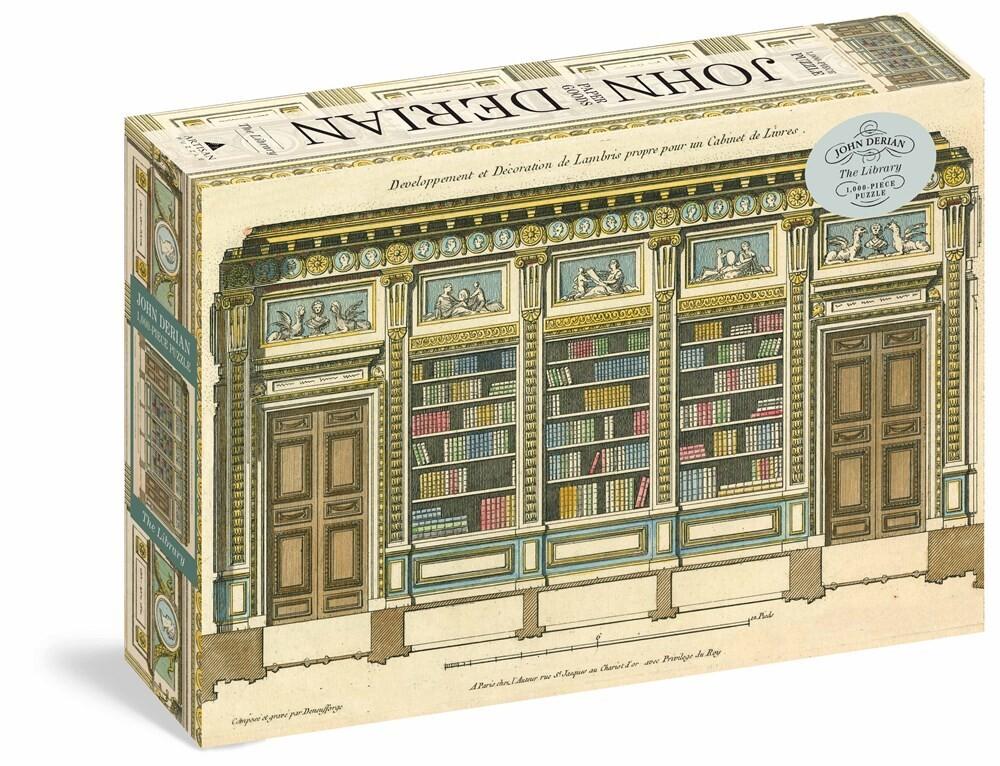 - John Derian Library 1000 Piece Puzzle (Puzz)