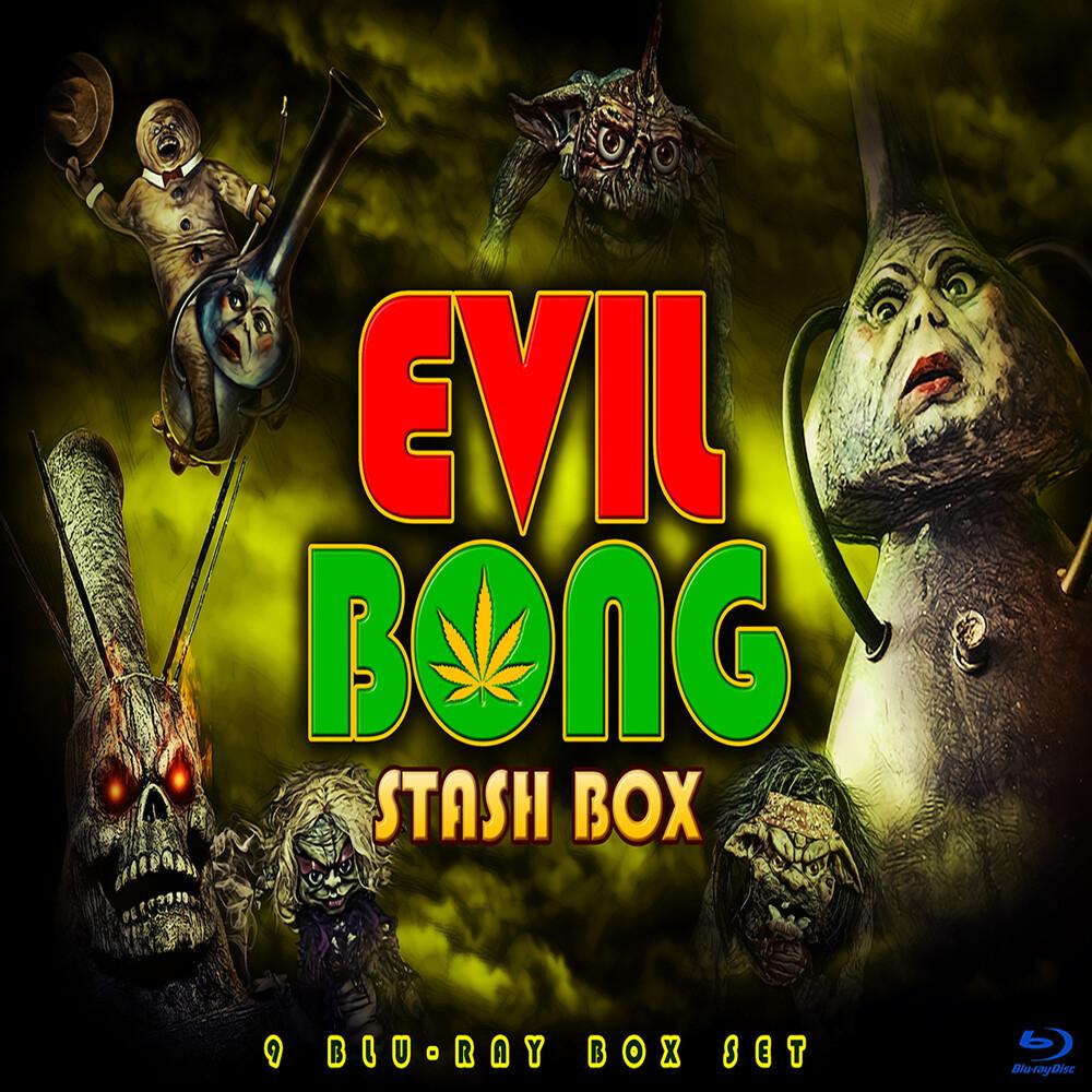 Evil Bong Stash Box - Evil Bong Stash Box (8pc) / (Box)