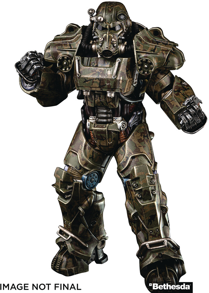 - Fallout T-60 Camouflage Power Armor 1/6 Scale Fig