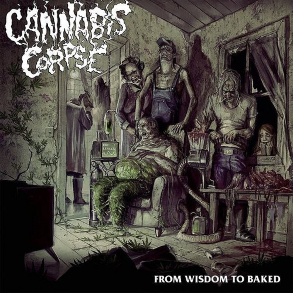 Cannabis Corpse - From Wisdom To Baked [Clear Vinyl] [Limited Edition] (Wht)