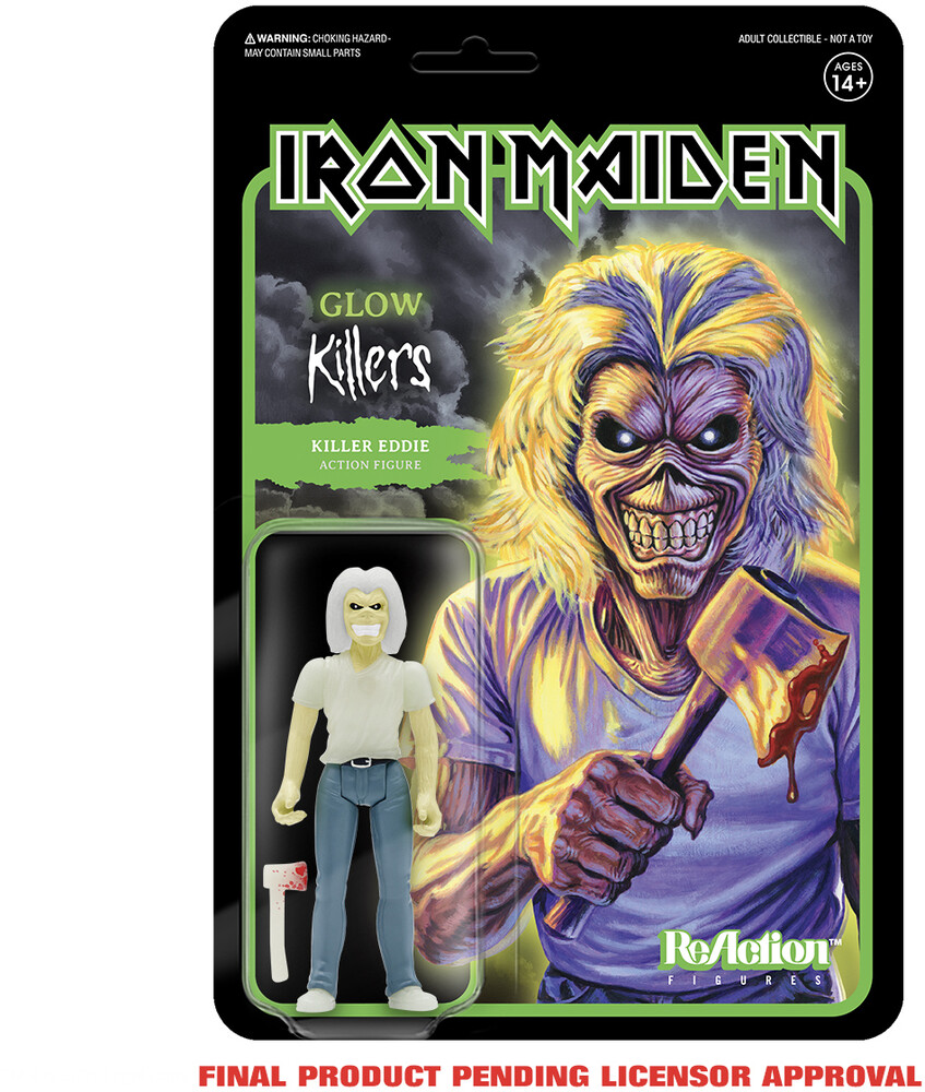 Iron Maiden - Killer Eddie (Glow) (Ae Exclusive) - Iron Maiden - Killer Eddie (Glow) (Ae Exclusive)