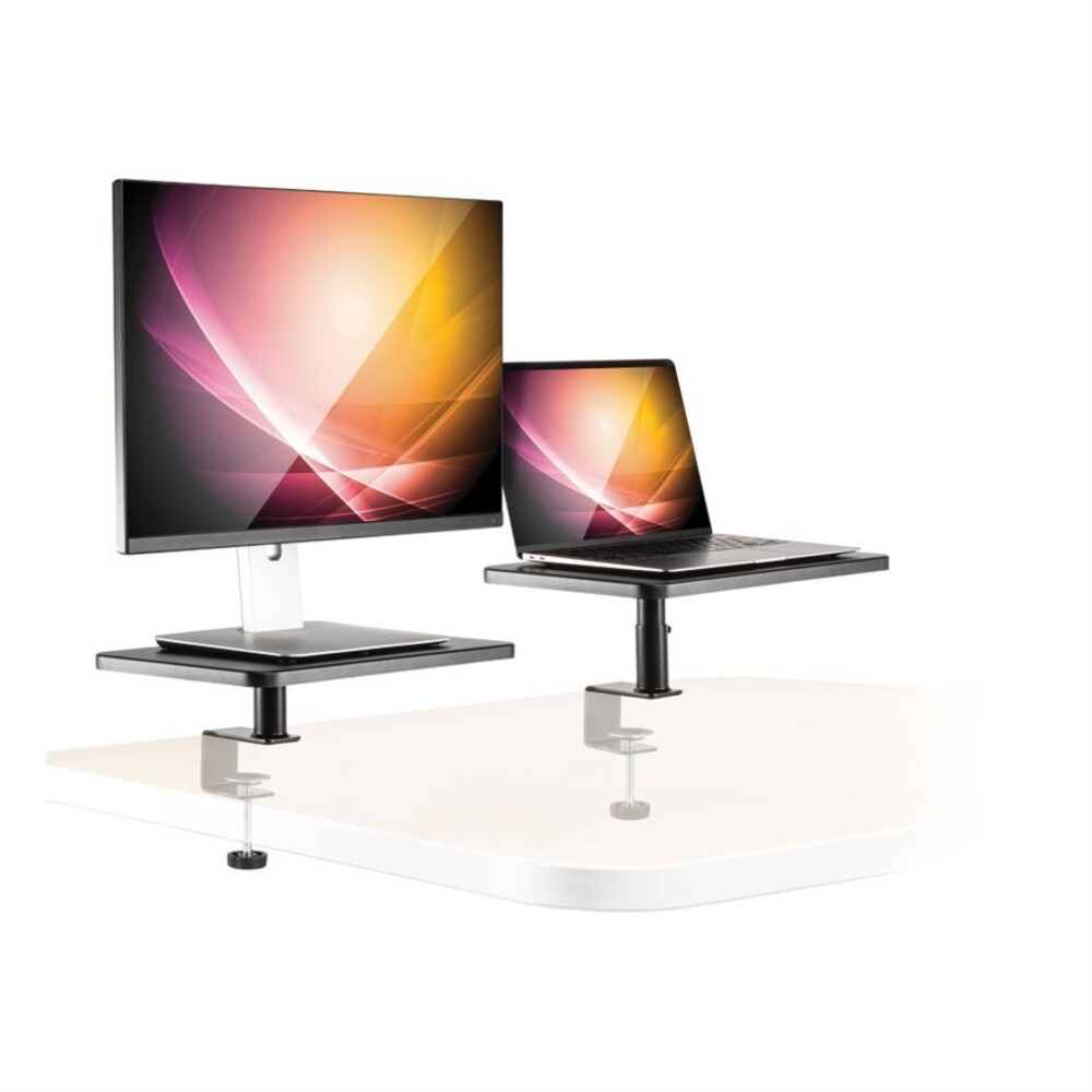 Allsop 32457 Ascend Monitor/Laptop Stands 2Pk Blk - Allsop 32457 Ascend Monitor/Laptop Stands 2pk Blk