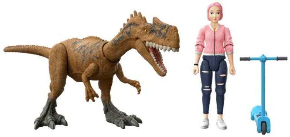 Jurassic World - Jw Human & Dino Bundle Brooklyn & Monolophosaurus