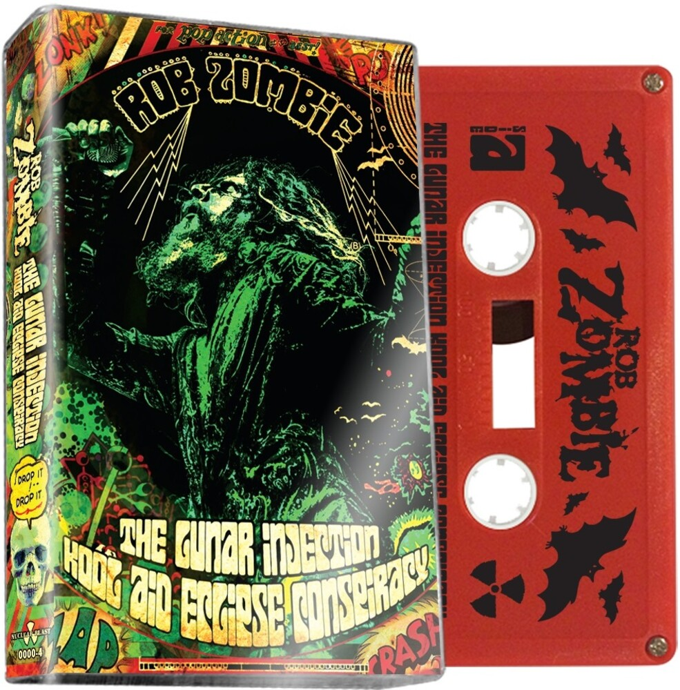 Rob Zombie - Lunar Injection Kool Aid Eclipse Conspiracy (Red)