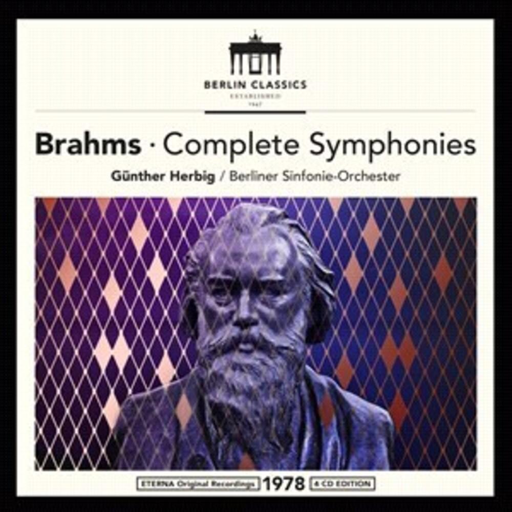 Brahms / Gunther Herbig / Berliner Sinfonie-Orch - Brahms: Complete Symphonies + Schoenberg (Uk)