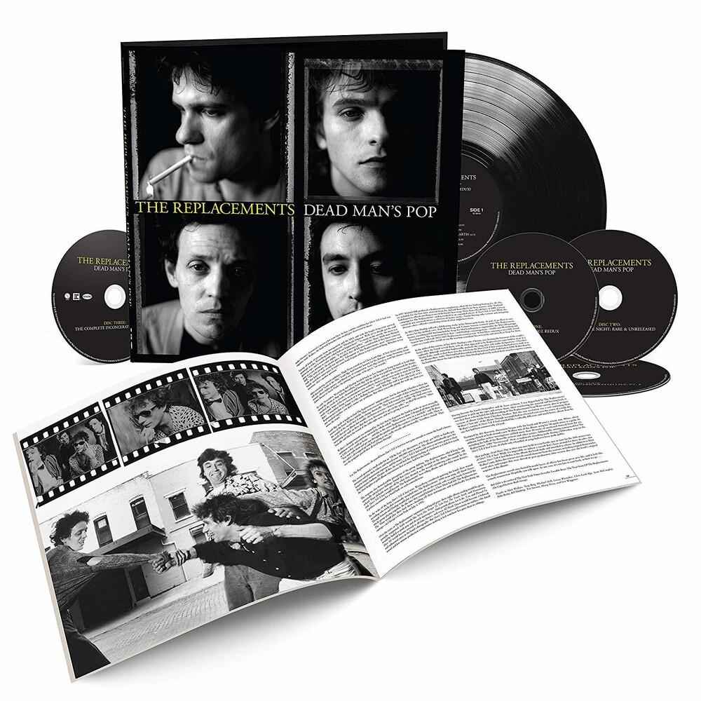 The Replacements - Dead Man's Pop [4CD/1LP]