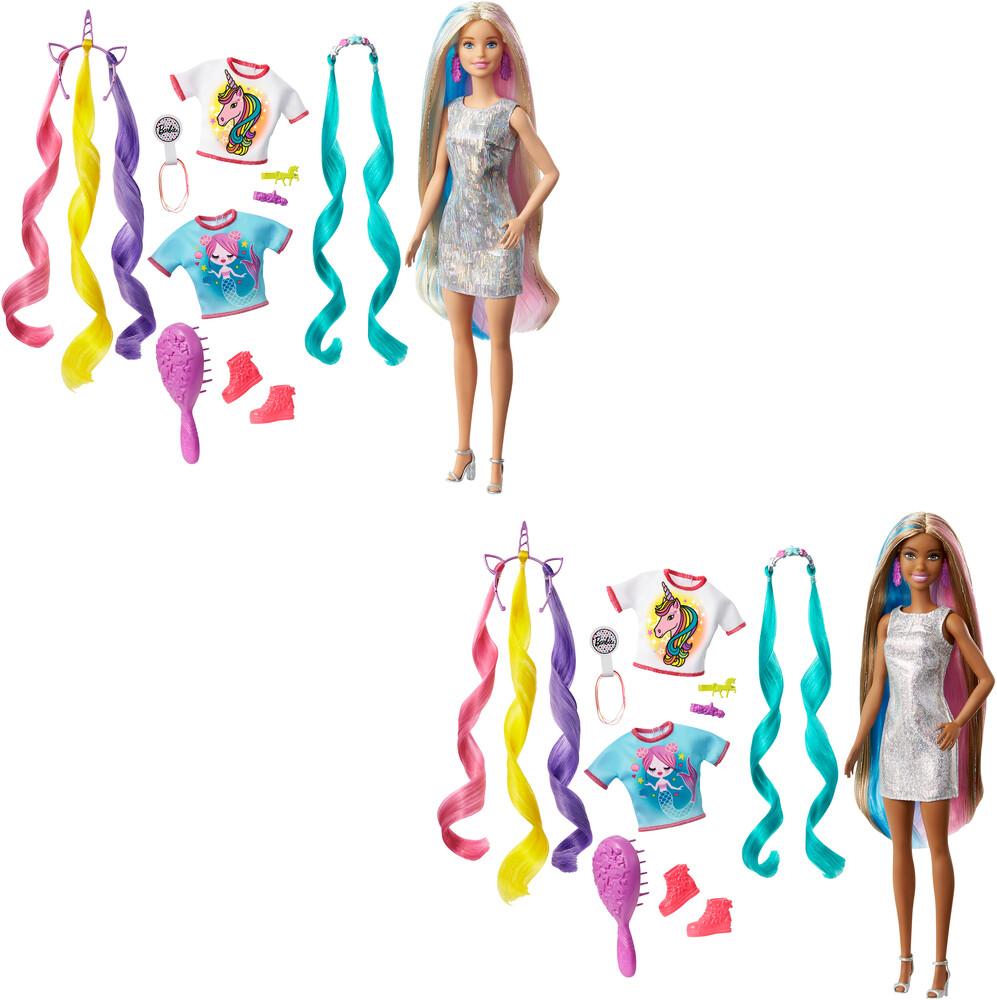 Barbie - Mattel - Barbie Fab Hair Feature Assortment