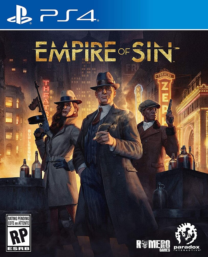 Ps4 Empire of Sin - Empire Of Sin