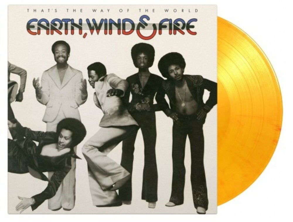 Earth Wind & Fire - That's The Way Of The World [Limited 'Flaming' Orange & Yellow Colored Vinyl]