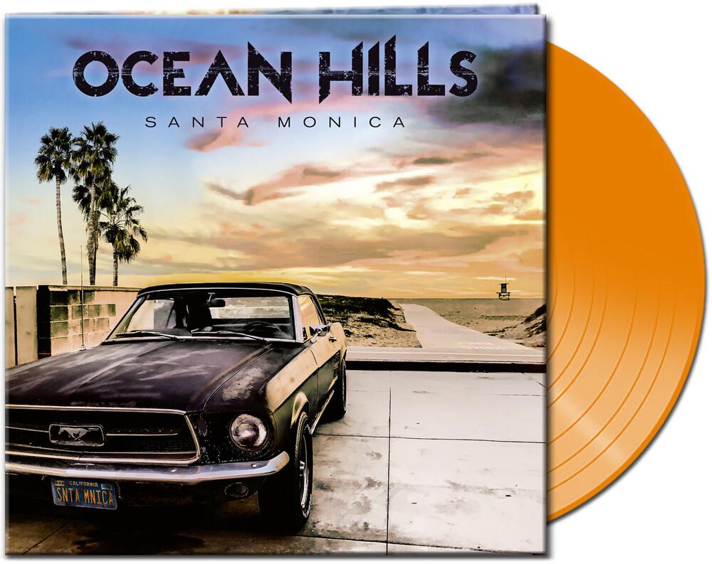 Ocean Hills - Santa Monica (Clear Clear Orange Vinyl) [Clear Vinyl]