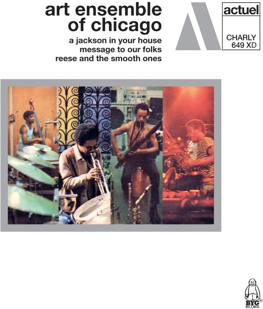 Art Ensemble Of Chicago - A Jackson In Your House Plus